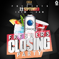 CHAX BARBERS FRESHERS CLOSING PARTY