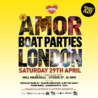 Amor Boat Party - Saturday Session + after-party