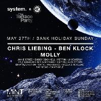 system. & Set One Twenty Terrace Party CHRIS LIEBING / BEN KLOCK