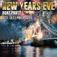 New Years Eve Boat Party with London Firework Displays!
