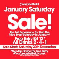 January Saturday Sale - The Full Experience for Half the Price