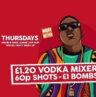 Thirsty Thursdays Freshers Welcome
