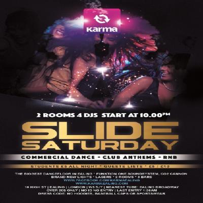 SLIDE Saturday with DJ's Steve Krafft & Tony Tee