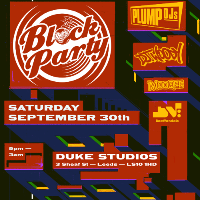 Bomstrikes Block Party With Plump DJs And DJ Woody