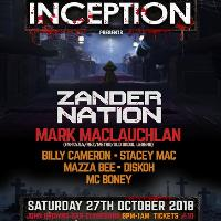 Inception Presents 4th Birthday Zander Nation Halloween