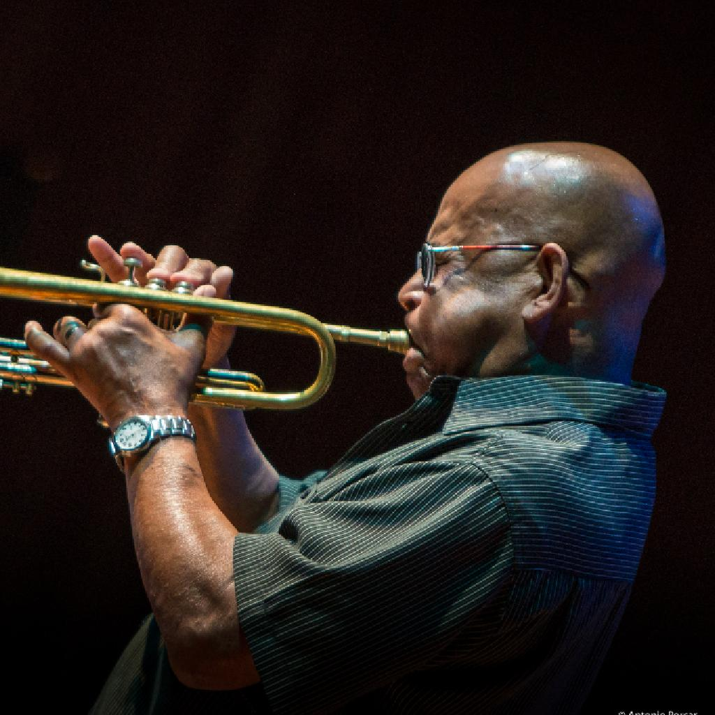 Eddie Henderson with the Bruce Barth Trio