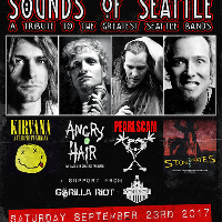 THE SOUNDS OF SEATTLE- Kirvana + Pearl Scam+ Angry Chair+ STP