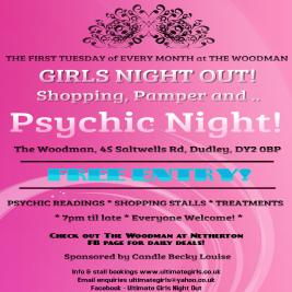 Shopping, Pamper & Psychic Nights at The Woodman Tickets | The Woodman At Netherton Dudley  | Tue 1st December 2020 Lineup
