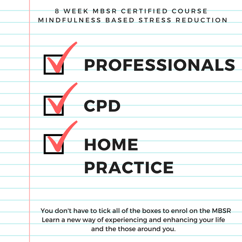 Mbsr 8 Week Mindfulness Based Stress Reduction Course Tickets The
