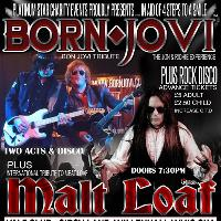 Bon Jovi & Meat Loaf Tribute PLUS Rock Disco