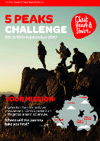 5 Peaks Challenge - Northern Ireland Chest Heart and Stroke