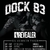 Dock 83, Revealer, Abandon The Night and Glass Harbour