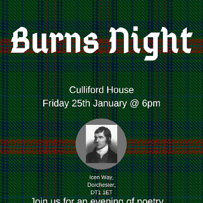 Burns Night @ Culliford House