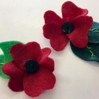 Poppy arts and crafts with Mrs Potts' Place