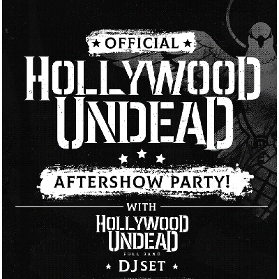 7a8dbbc7d3e Official Hollywood Undead aftershow party ft. full band DJ set Tickets