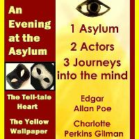 crowd of 2 theatre - a night at the Asylum
