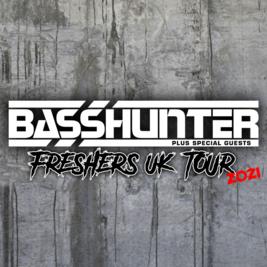 BASSHUNTER Freshers tour 2021