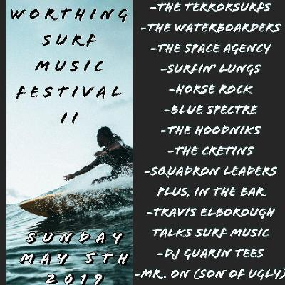Worthing surf music festival