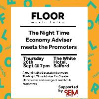 6th FLOOR: The Night Time Economy Adviser meets the Promoters