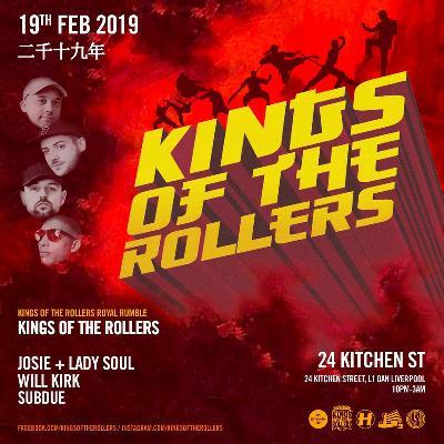 POSTPONED 26 FEB Kings of the Rollers Album Launch (Liverpool)