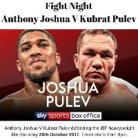 Fight Night Anthony Joshua V Kubrat Pulev