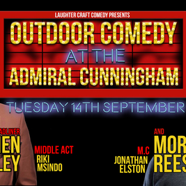 Outdoor Comedy at the AC September