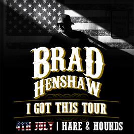 Brad Henshaw + Band *Postponed*