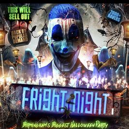 Fright Night Birmingham Biggest Halloween 🎃 Party
