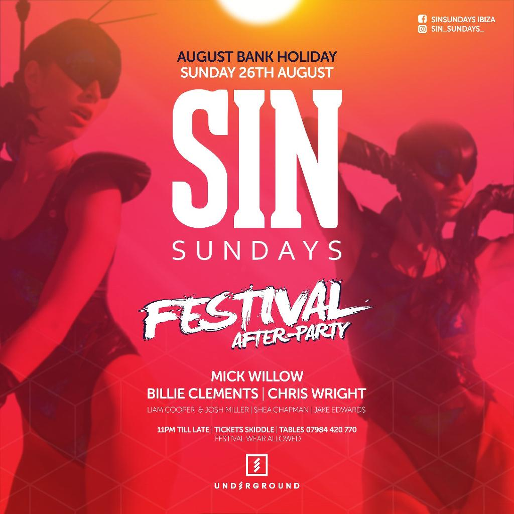 Sin Sundays Festival After-Party