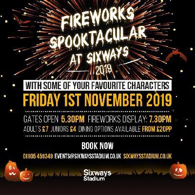 Fireworks Spooktacular at Sixways