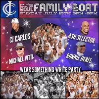 Cj's Soul Family Boat Wear Something White Party