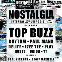 Nostalgia - Saturday 27th July 2019