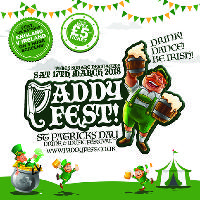 PADDY FEST 'St Patricks Day Beer & Music Festival'
