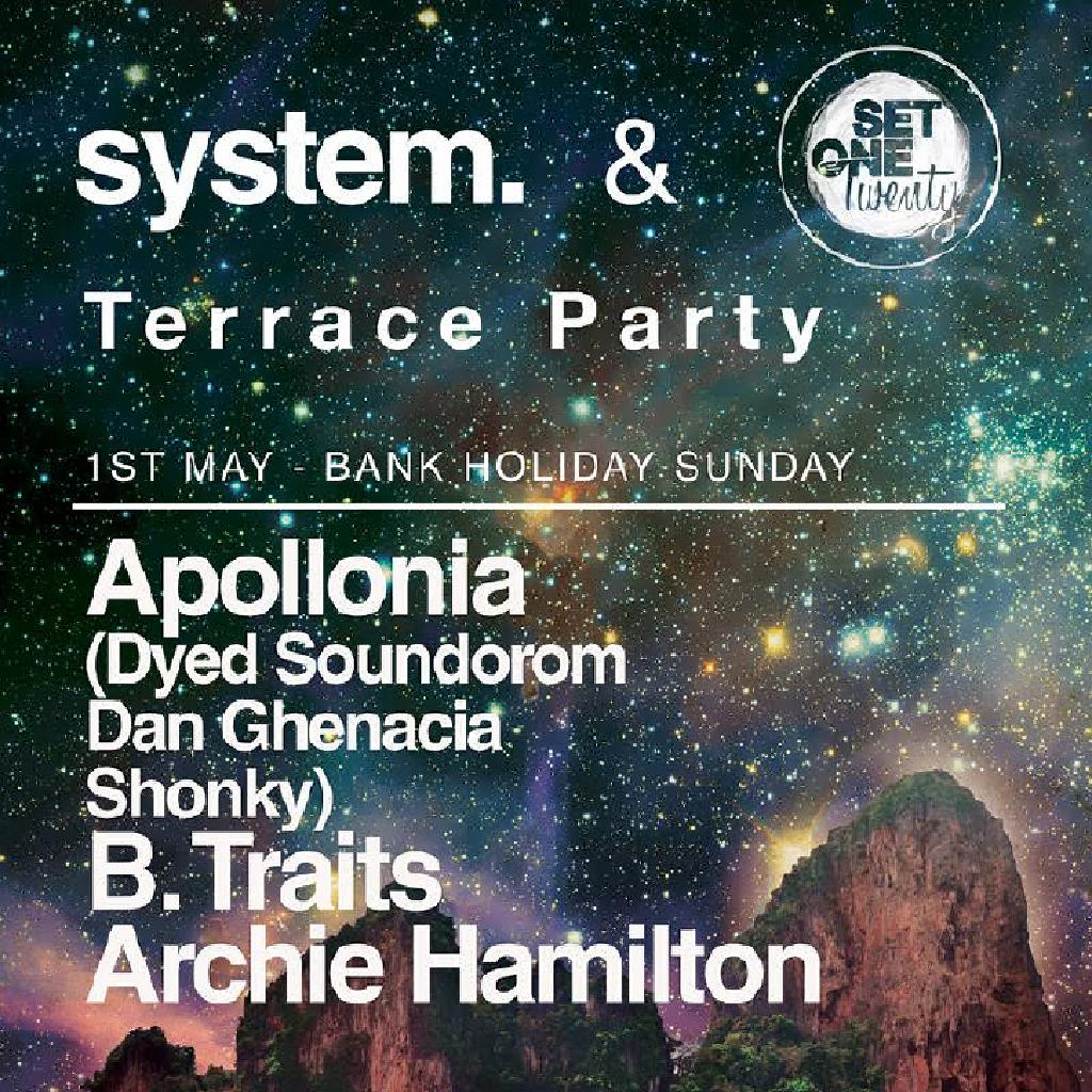 System set one twenty terrace party tickets mint for Terrace party