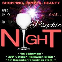 Christmas Shopping, Pamper & Psychic Night