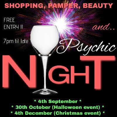 Christmas Shopping, Pamper & Psychic Night