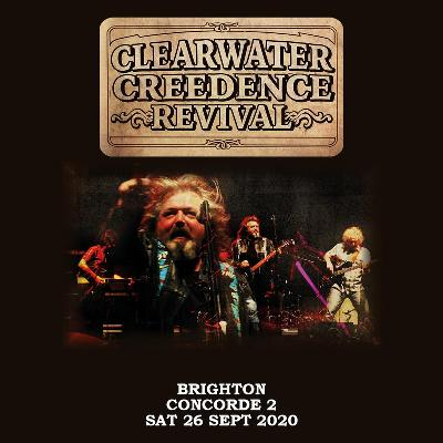 AGMP presents: CLEARWATER CREEDENCE REVIVAL Celebrating 50 years since the Woodstock Festival, live at The Concorde 2 on Saturday 26th September 2020.