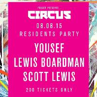 Yousef presents CIRCUS residents party