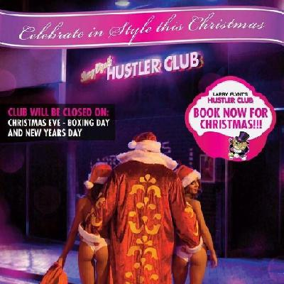Xmas party in the Hustler Club!