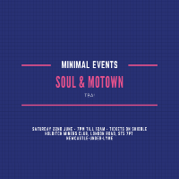 Minimal Events - Soul & Motown Round 3