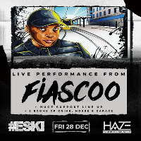 ESKI Launch Party - Fiascoo LIVE Performance plus huge support