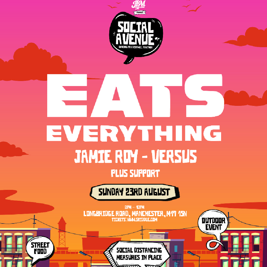 Social Avenue presents: Eats Everything Tickets | Car Park Trafford ...