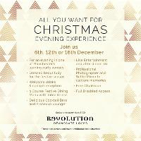 All You Want For Christmas Evening Experience
