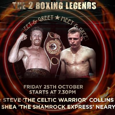An evening with Steve Collins & Shea Neary