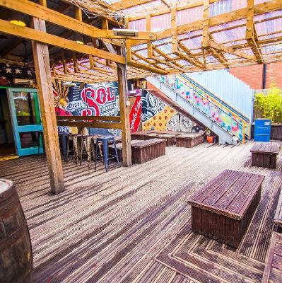 Drum & Bass Rooftop w/ Rise, Heft, Concrete Junglists