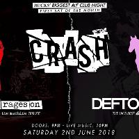 Crash: The Machine Rages On + Deftones UK