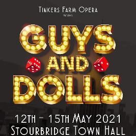 GUYS AND DOLLS | Stourbridge Town Hall Stourbridge  | Wed 12th May 2021 Lineup