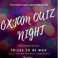 Oxjam Quiz Night   Fundraiser 1