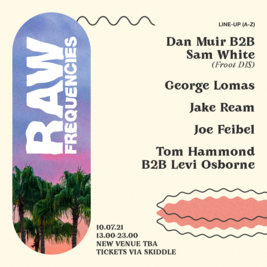 Raw:Frequencies- Back to the Boogie Day Party!