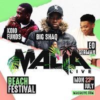 Malia Live Beach Festival w Big Shaq, Kojo Funds, EO